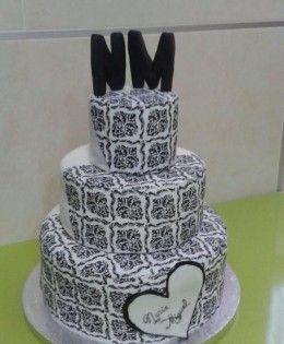 tarta de boda. 3 pisos