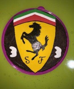 tarta Ferrari
